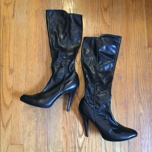 Chinese Laundry Brand Black Knee High Boots 9.5